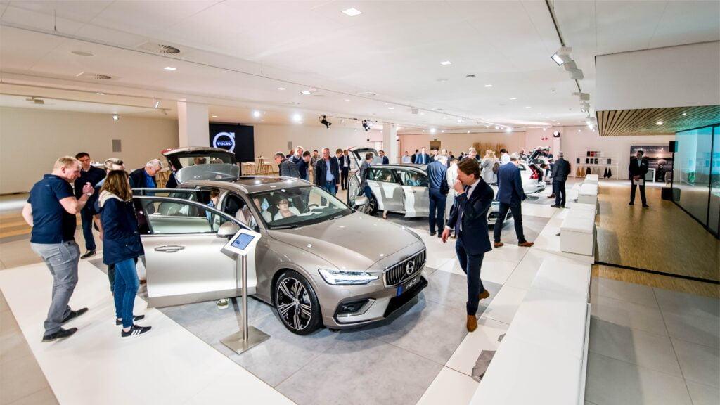Volvo - Sneak Preview V60, Beesd 2018-08